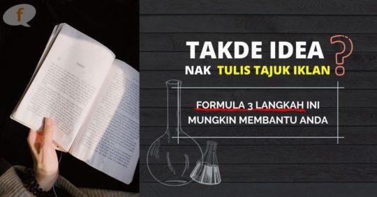 Formula Tulis Headline